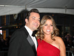 Jimmy Fallon, Nancy Juvonen Photo