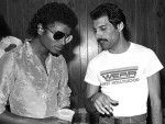 Michael Jackson and Freddy Mercury