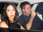 Lauren Silverman and Simon Cowell