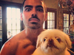 Joe Jonas Shirtless