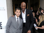 Rob Kardashian and Lamar Odom