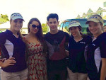 Nick Jonas at the U.S. Open