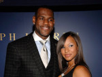 LeBron James and Savannah Brinson Picture
