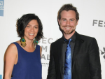 Rider Strong and Alexandra Barreto