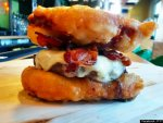 Deep-Fried Twinkie Burger