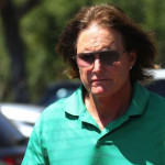 Bruce Jenner Goes for a Walk
