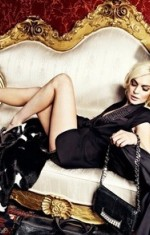 Lindsay Lohan For Philipp Plein Ad