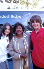 Paris, Prince and Katherine Jackson