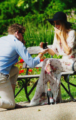 Cressida Bonas and Prince Harry (Fake)