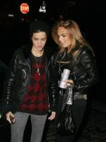 Lohan and Ronson Night Out