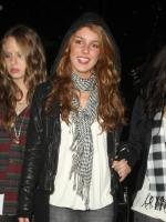 Shenae Grimes Parties it Up