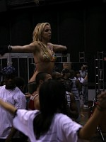 Britney Spears Working Out
