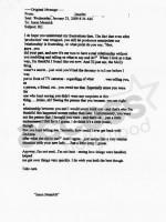 Jason Mesnick-Melissa Rycroft Email: Part I