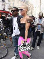 Kanye West and Amber Rose Pic