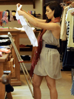 Kim Goes Shopping