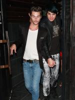 Adam Lambert and Drake LaBry