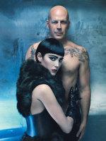 Bruce and Emma Willis