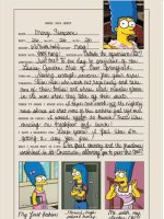 Marge Simpson Playboy Stats