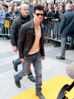 Leather Clad Lautner