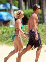 Britney and Jason Stroll