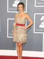 Giuliana Rancic at the Grammys