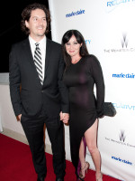 Shannen Doherty and Kurt Iswarienko