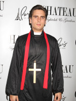 Scott Disick as a Priest