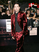 Jackson Rathbone at Breaking Dawn Premiere