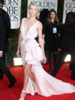 Charlize Theron Golden Globes Dress
