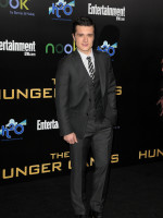 Josh Hutcherson at Hunger Games Premiere