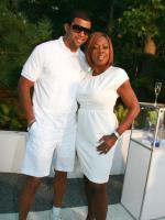 Star Jones and Al Reynolds