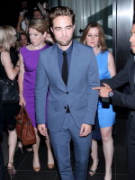 Robert Pattinson in New York City