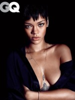 Rihanna Cleavage Pic (GQ)