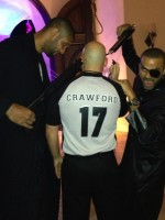 Tim Duncan and Tony Parker on Halloween