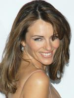 Elizabeth Hurley Pink Dress Photo