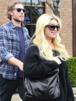 Eric Johnson and Jessica Simpson Photograph