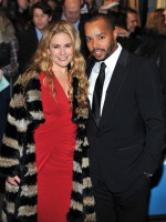 Donald Faison and Cacee Cobb Pic