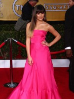Lea Michele SAG Awards Fashion