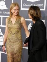 Nicole Kidman at the 2013 Grammys