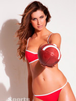 Katherine Webb Football Pic