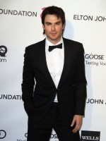 Ian Somerhalder Oscar Party Pic