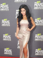 Snooki at the MTV Movie Awards