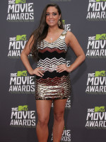 Sammi at the MTV Movie Awards