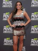 Sammi at the MTV Movie Awards