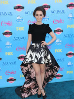 Lily Collins at the Teen Choice Awards