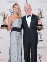 Heidi Klum and Tim Gunn Photo