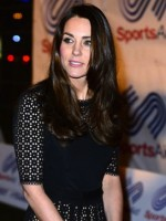 Kate Middleton, Dark Hair
