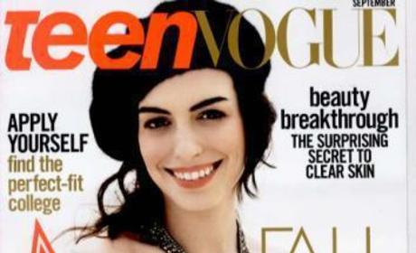 Anne Hathaway is Cute, Appears in Many Magazines