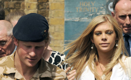 Prince Harry Honored, Chelsy Davy Proud