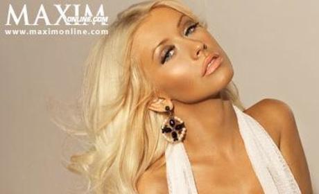 Christina Aguilera in Maxim, Too